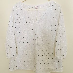 Merona dotted Blouse
